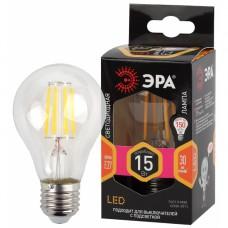 F-LED A60-15W-827-E27 ЭРА (филамент, груша, 15Вт, тепл, Е27)