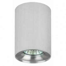OL1 GU10 SL/CH Подсветка ЭРА накладной, GU10, D80*100мм, серебро/ хром