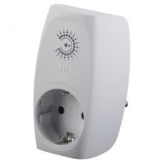 SF-1e-W (new) ЭРА Сет.фильтр на 1 гнездо, с заземл, со шт (белый)