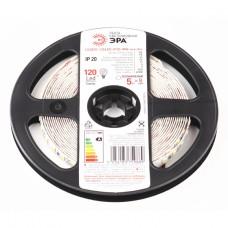 ЭРА Лента светодиодная LS2835-120LED-IP20-WW-eco-5m