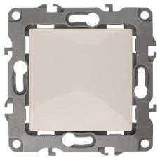 12-1001-02 ЭРА Выключатель, 10АХ-250В, IP20, без м.лапок, Эра12, слоновая кость