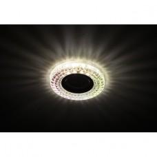 DK LD15 SL RGB/WH Светильник ЭРА декор cо светодиодной подсветкой MR16, мультиколор